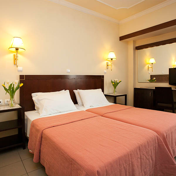 Pythagorion Hotel Single room
